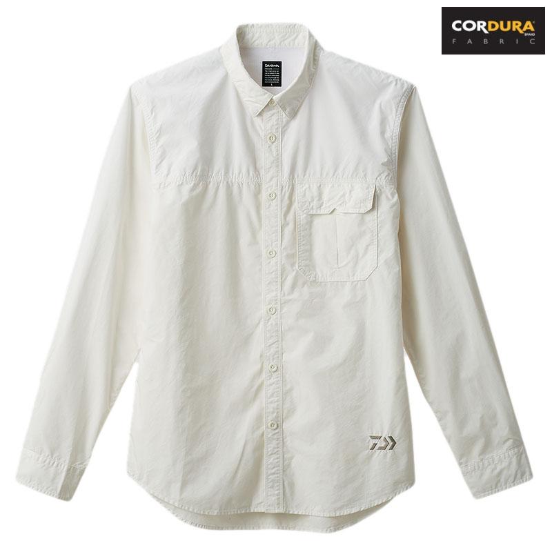 ダイワ(Daiwa) DE-89008 CORDURAR タイプライター ドライシャツ 2XL ホワイト 08330635