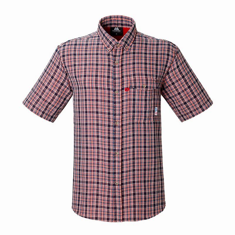 マウンテンイクイップメント(Mountain Equipment) SS Double Gauze Shirt (ダブルガーゼシャツ) S ネイビー 421831