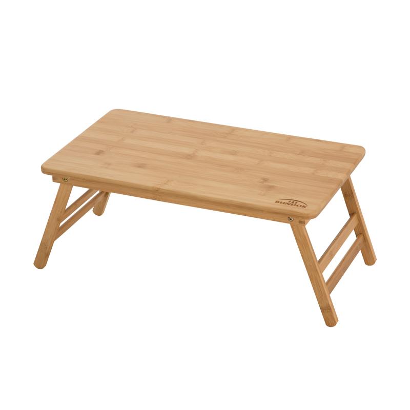 アウトドアテーブル BUNDOK(バンドック) バンブーテーブル50 ウッド BD-191