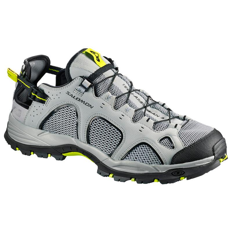 SALOMON(サロモン) FOOTWEAR TECHAMPHIBIAN 3 26.0cm Quarry×Bk×Acid L40159600