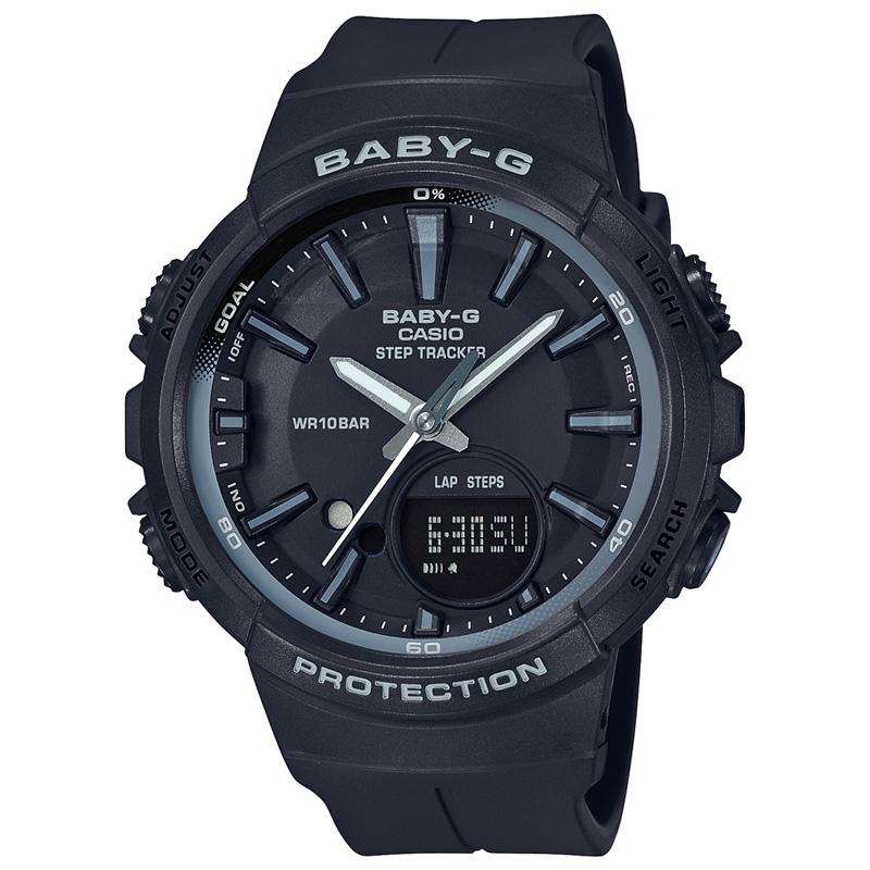 BABY-G(ベビージー) 【国内正規品】BGS-100SC-1AJF ブラック BGS-100SC-1AJF