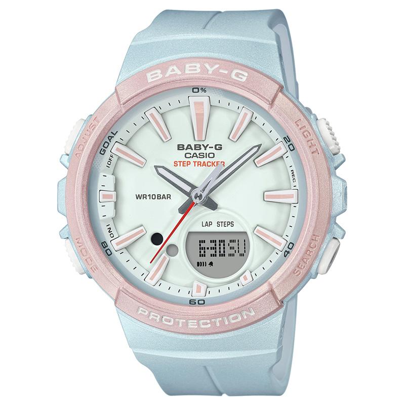 BABY-G(ベビージー) 【国内正規品】BGS-100SC-2AJF ブルー×ピンク BGS-100SC-2AJF