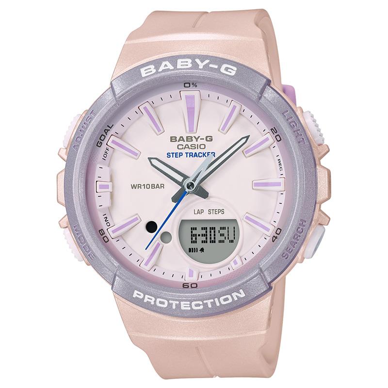 BABY-G(ベビージー) 【国内正規品】BGS-100SC-4AJF ピンク×パープル BGS-100SC-4AJF