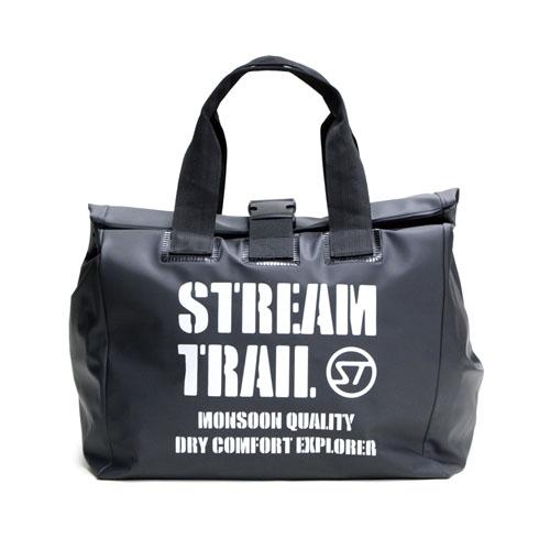 STREAM TRAIL(ストリームトレイル) ROLL DOWN TOTE(ロールダウン トート) BLACK