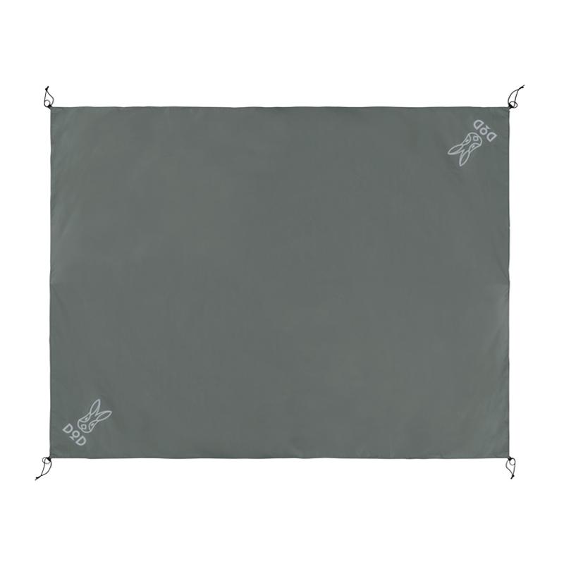 テント 年中無休 タープアクセサリー DOD ディーオーディー 5人用 おトク グレー グランドシート GS5-566-GY