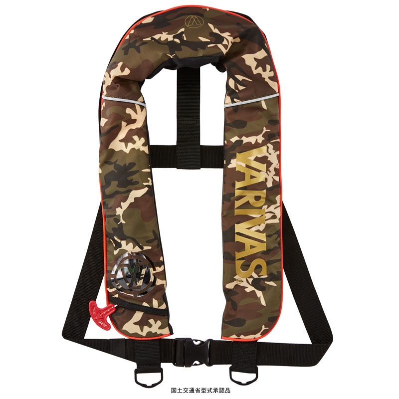 モーリス(MORRIS) VAL-14 バリバス ライフジャケット ベストタイプ フリー グリーンカモ VAL-14