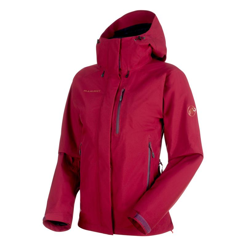 アウトドアジャケット(レディース) MAMMUT(マムート) Ayako Pro HS Hooded Jacket Women's XS beet 1010-26750