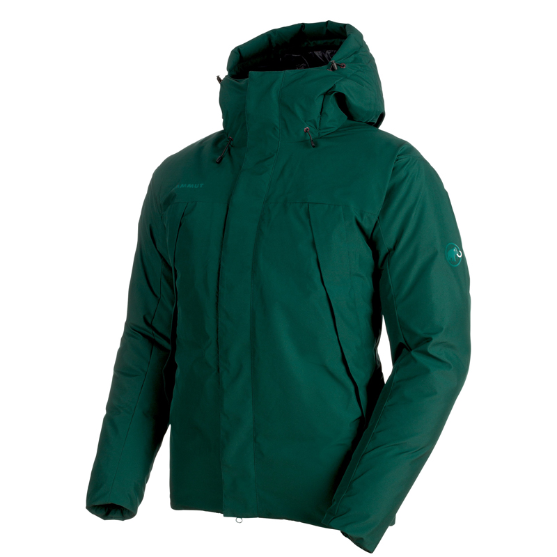 MAMMUT(マムート) Crater SO Thermo Hooded Jacket Men's L dark teal 1011-00450