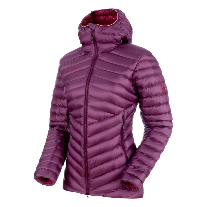 MAMMUT(マムート) Broad Peak IN Hooded Jacket Women's S grape×beet 1013-00350