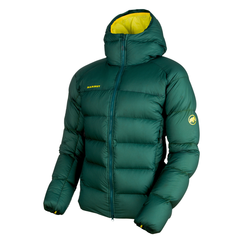 MAMMUT(マムート) Meron IN Hooded Jacket AF Men's M dark teal×canary 1013-00740