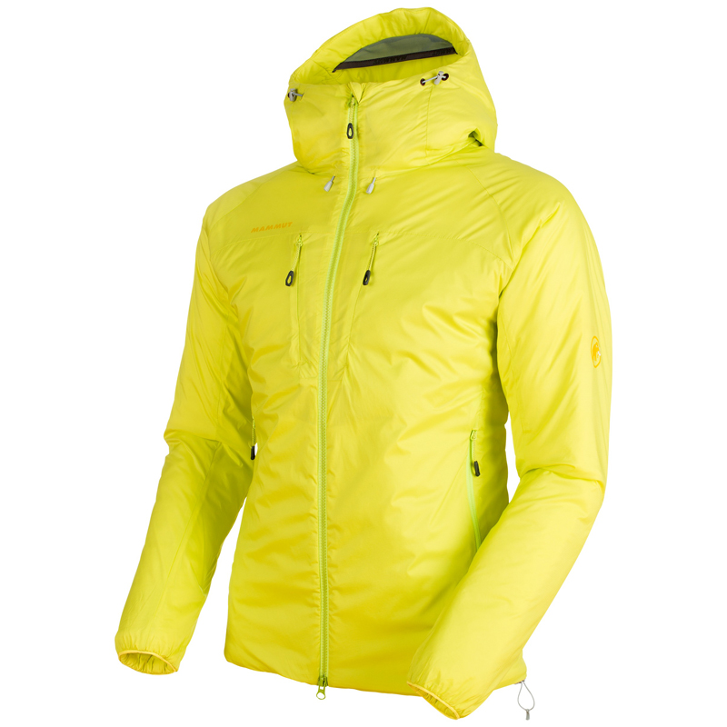 MAMMUT(マムート) Rime IN Flex Hooded Jacket AF Men's L canary 1013-00750