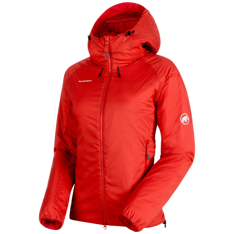 MAMMUT(マムート) Rime IN Flex Hooded Jacket AF Women's S magma 1013-00760