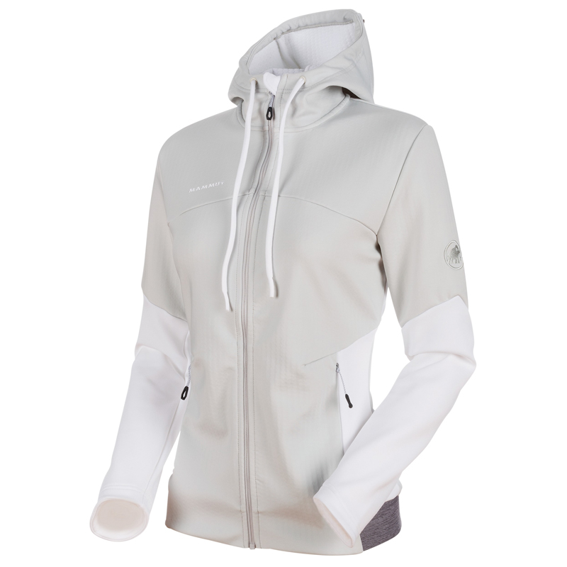 MAMMUT(マムート) Alnasca ML Hooded Jacket Women's M marble×white×white 1014-00370