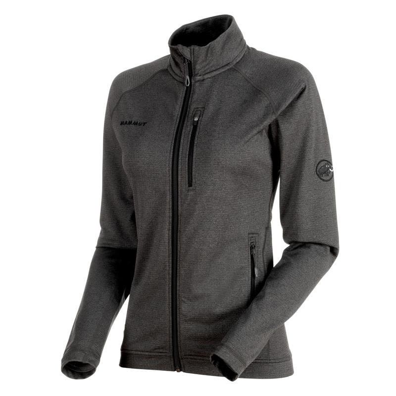 MAMMUT(マムート) EXCURSION Jacket Women's L black melange 1014-00550