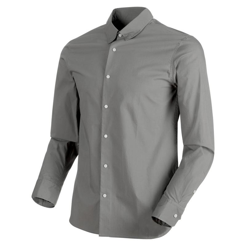 MAMMUT(マムート) CHALK Shirt Men's S titanium 1015-00200