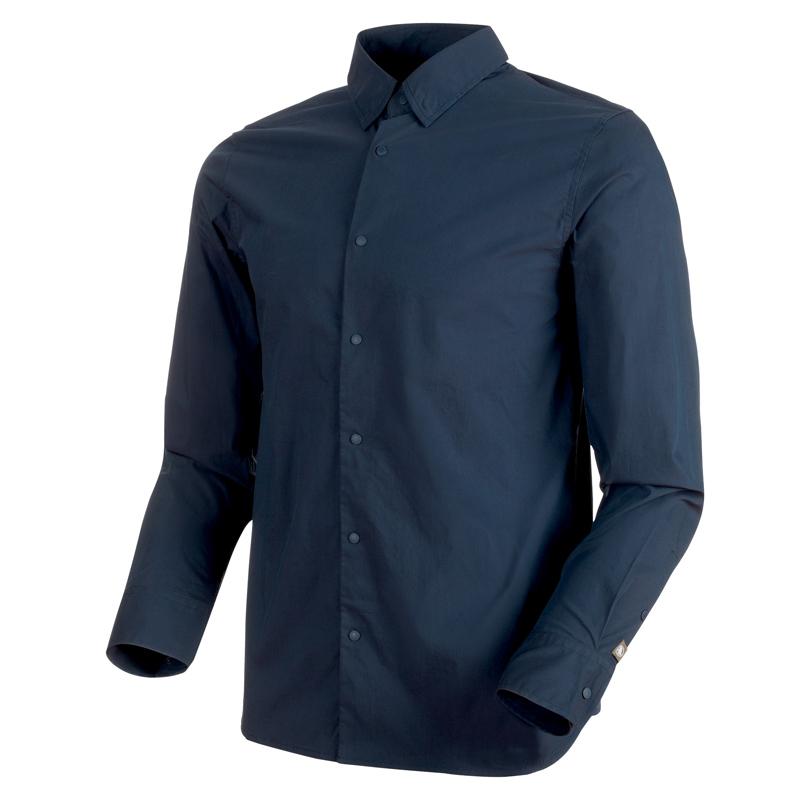 MAMMUT(マムート) CHALK Shirt Men's L marine 1015-00200