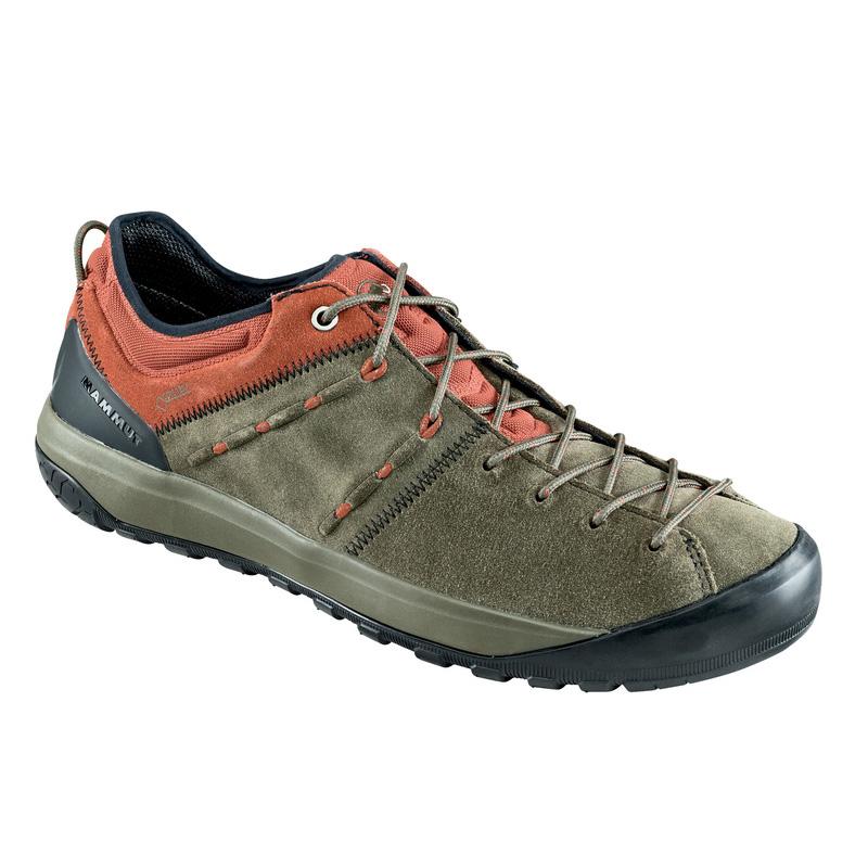 MAMMUT(マムート) Hueco Low GTX(R) Men's 7.5/26.0cm iguana×dark crumble 3020-06110