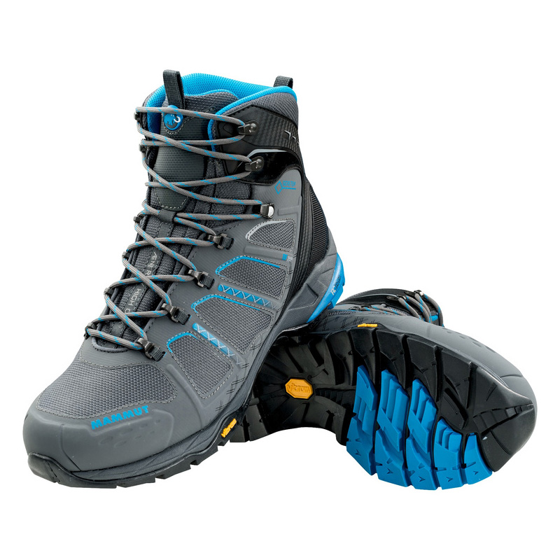MAMMUT(マムート) T Aenergy High GTX(R) Men's 7.5/26.0cm graphite×atlantic 3020-05570
