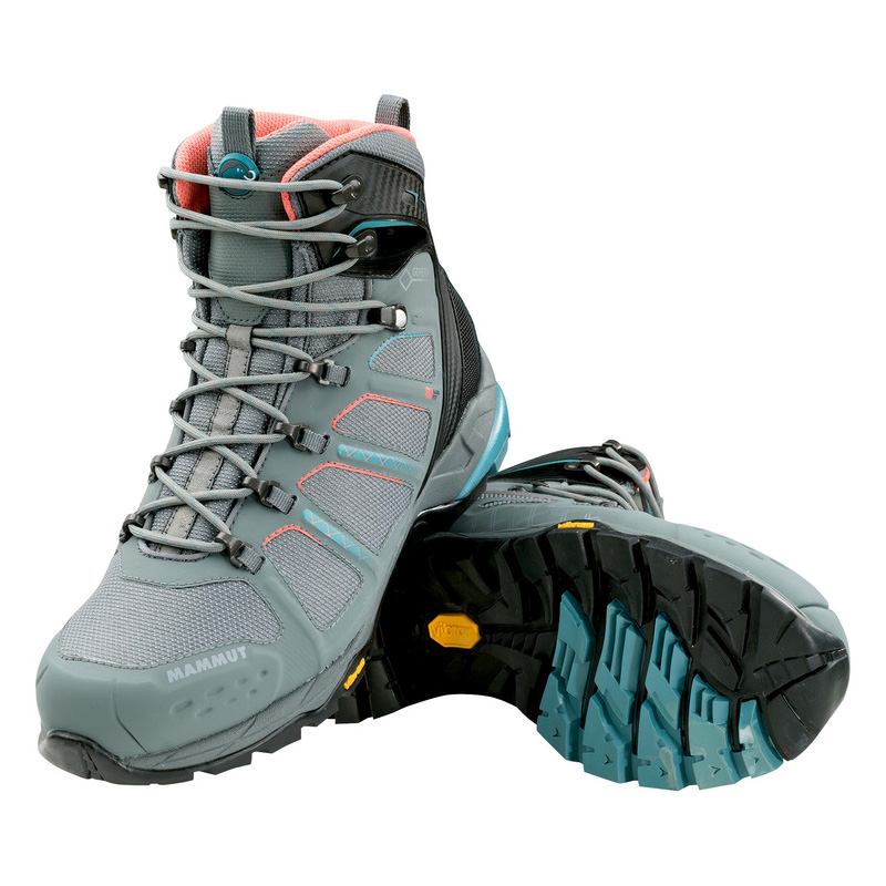 MAMMUT(マムート) T Aenergy High GTX(R) Women's 5.5/24.0cm grey×dark air 3020-05580