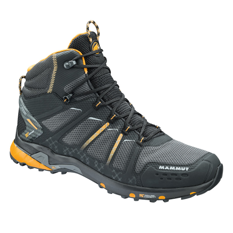 MAMMUT(マムート) T Aenergy Mid GTX(R) Men's 8/26.5cm black×dark radiant 3020-05610