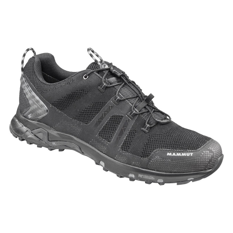 MAMMUT(マムート) T Aegility Low GTX(R) Men's 7.5/26.0cm black×black 3040-05531