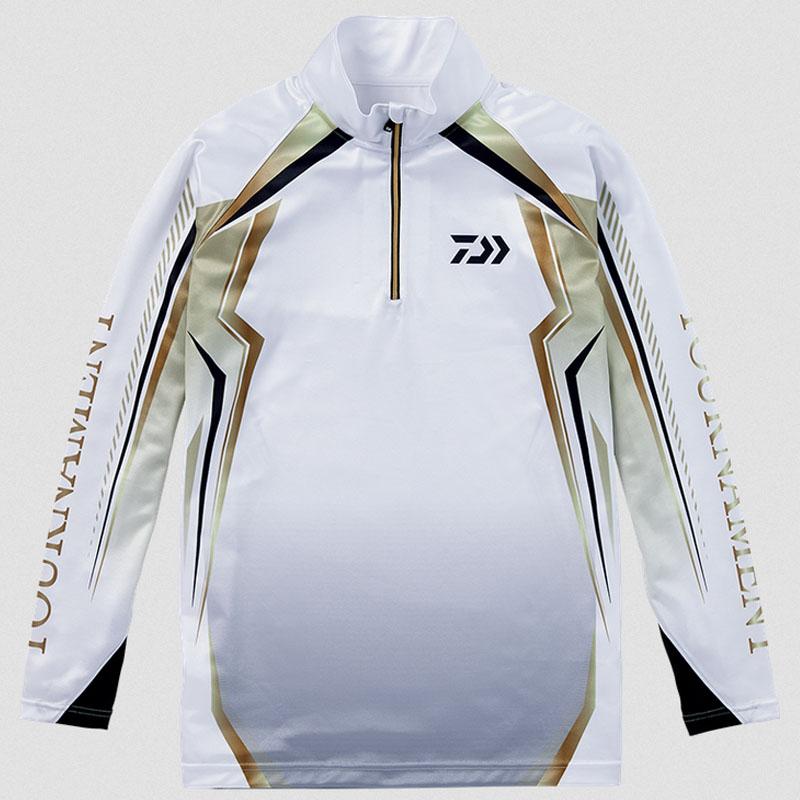 ダイワ(Daiwa) DE-77008T トーナメント ドライシャツ L ホワイト 08330777