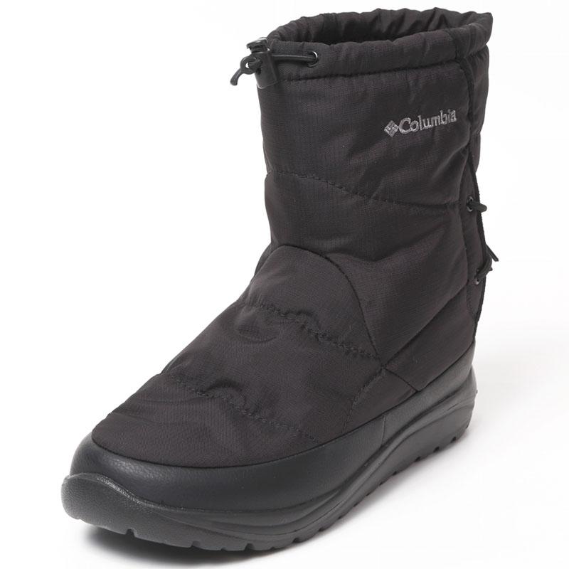 Columbia(コロンビア) スピンリール ブーツ アドバンス ウォータープルーフ オムニヒート 8/26.0cm 010(BLACK) YU3969