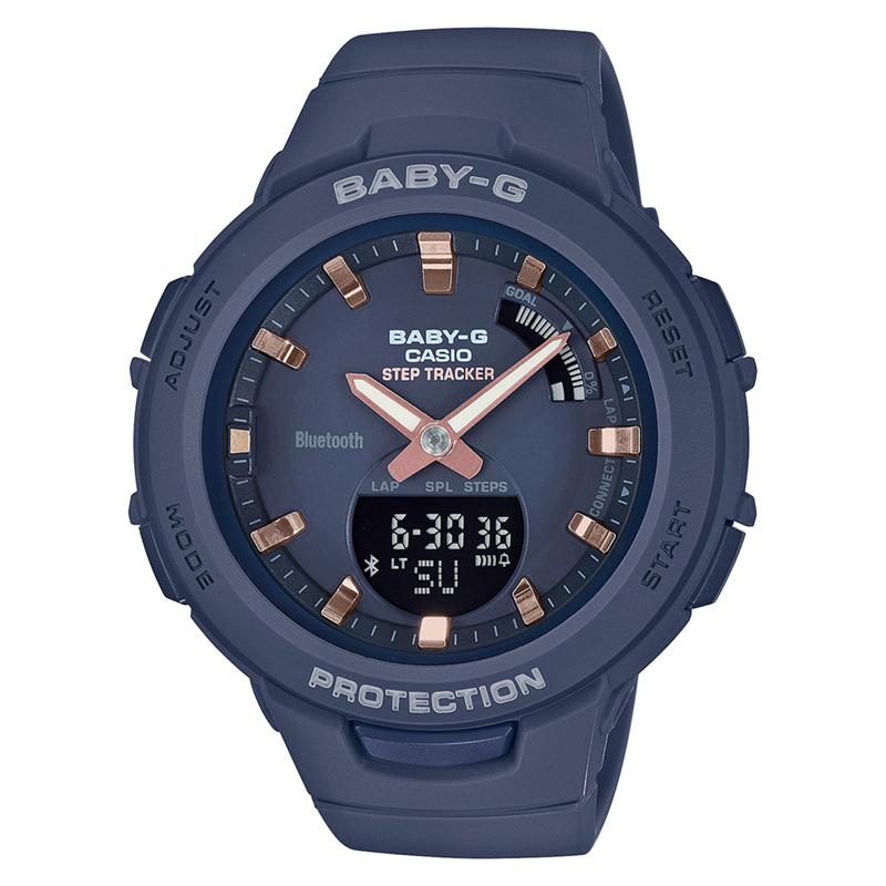 BABY-G(ベビージー) 【国内正規品】BSA-B100-2AJF ネイビー BSA-B100-2AJF