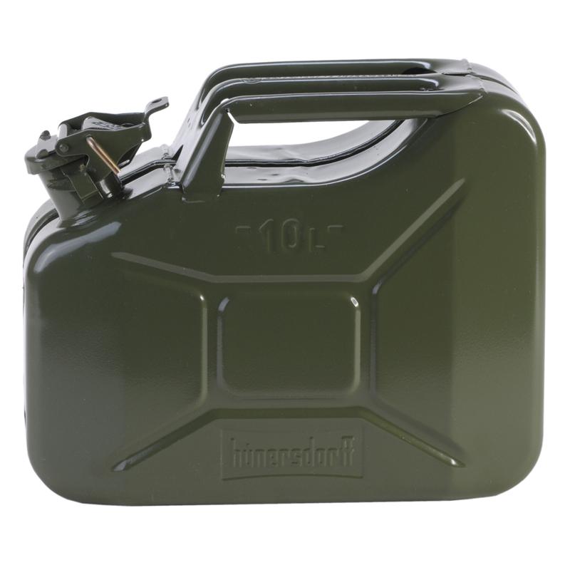 ヒューナースドルフ(hunersdorff) Metal Kanister CLASSIC 10L olive 434601