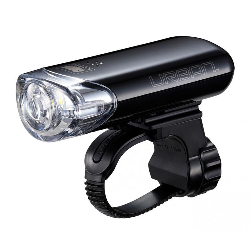 自転車アクセサリー キャットアイ CAT 正規激安 EYE LEDライト URBAN お気に入り BK HL-EL145