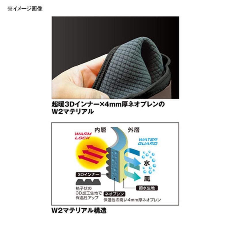 ナチュラム 3Dインナーネオプレンウェダー(フェルトピン付)+ダイワ人気キャップ【お買い得 パッケージ】