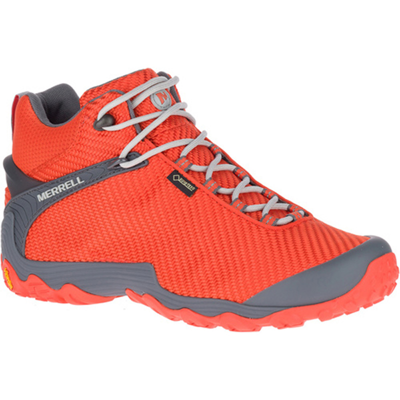 MERRELL(メレル) CHAMELEON7 STORM MID GORE-TEX Men's 9.5/27.5cm SPICY ORANGE M31127