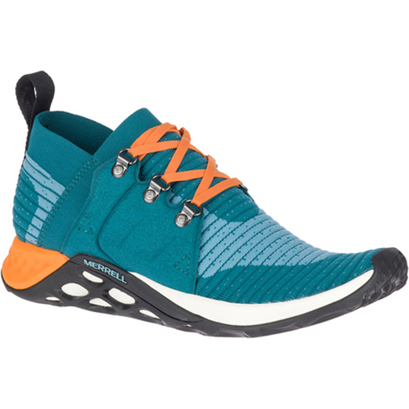 MERRELL(メレル) RANGE AC+ Men's 8.5/26.5cm TEAL×ORANGE M94487