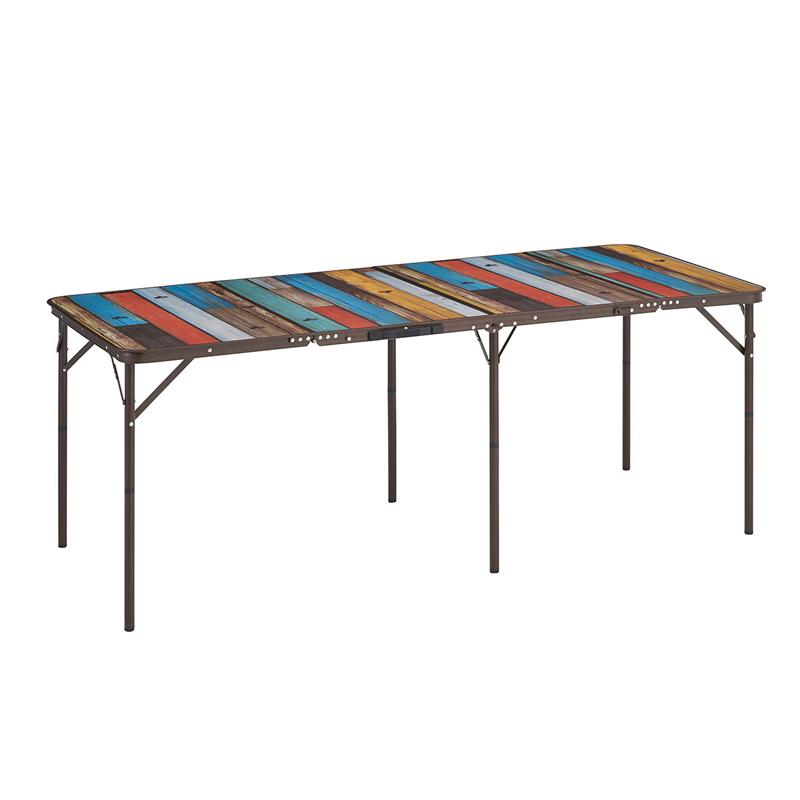 ロゴス(LOGOS) グランベーシック 丸洗い4FDスリムテーブル 18080 73200041