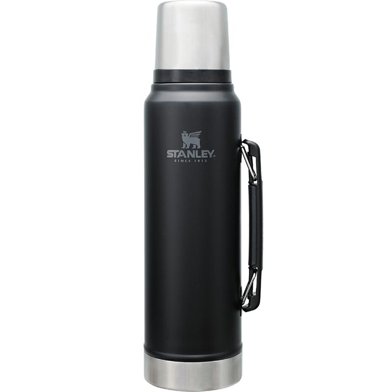 STANLEY(スタンレー) クラシック真空ボトル 1L マットブラック 08266-007