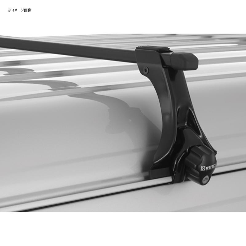 INNO(イノー) INSDK スクエアベースステー 雨ドイ車用 キーロック標準装備 ブラック INSDK