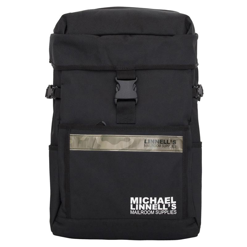 マイケルリンネル(MICHAEL LINNELL) Cosmic Pack(コズミック パック) ML-016 27L Black×Camouflage 124648