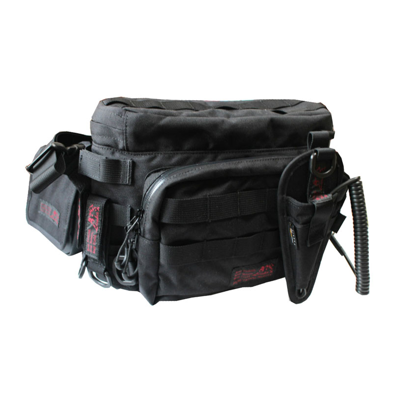 LINHA(リーニア) 2WAY WAIST BAG 「GROUPER」 TYPE4 セット BLACK(ブラック) MSB-03N2 SET