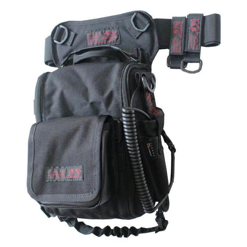LINHA(リーニア) 2WAY LEG BAG 「STAG」 セット BLACK(ブラック) MSB-22N SET