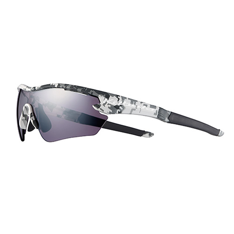 OGK(オージーケー) サングラス 101 M/L マットホワイトカモ×撥水スペクトルモーブミラー 20610122