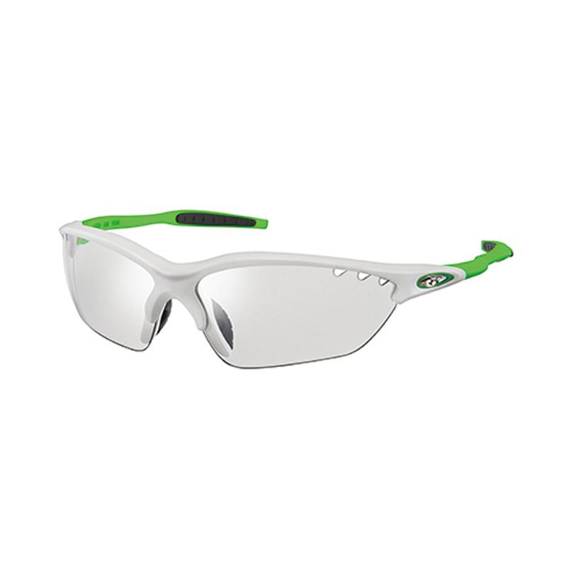 OGK(オージーケー) サングラス BINATO-X photochromic マットホワイトグリーン/クリア調光 クリア調光 20660867