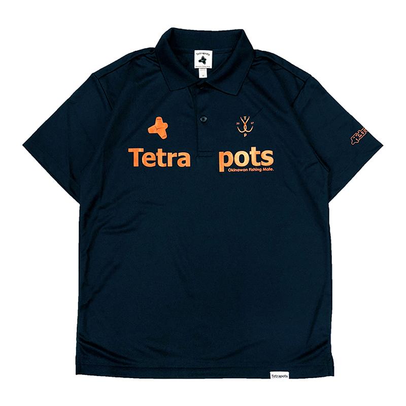 テトラポッツ(Tetrapots) Tetra Polo M ネイビー TPP-005