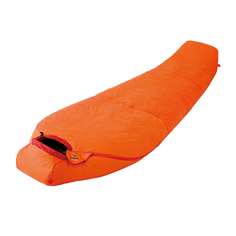ファイントラック(finetrack) ポリゴンネストオレンジショート(スタッフバッグ付) 下限-2度 OG(オレンジ) FAG0552