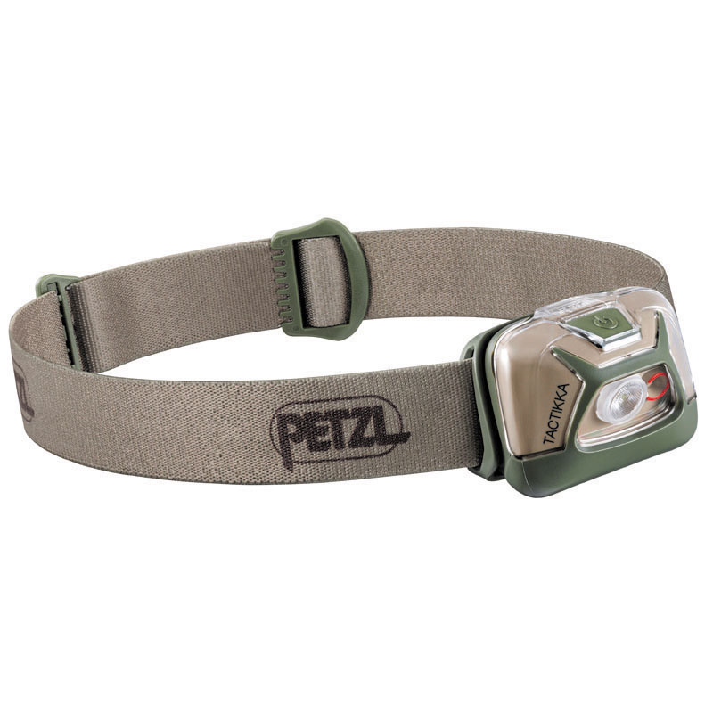 アウトドアライト PETZL ペツル タクティカ デザート E093HA02 最大300ルーメン 至高 オープニング 大放出セール