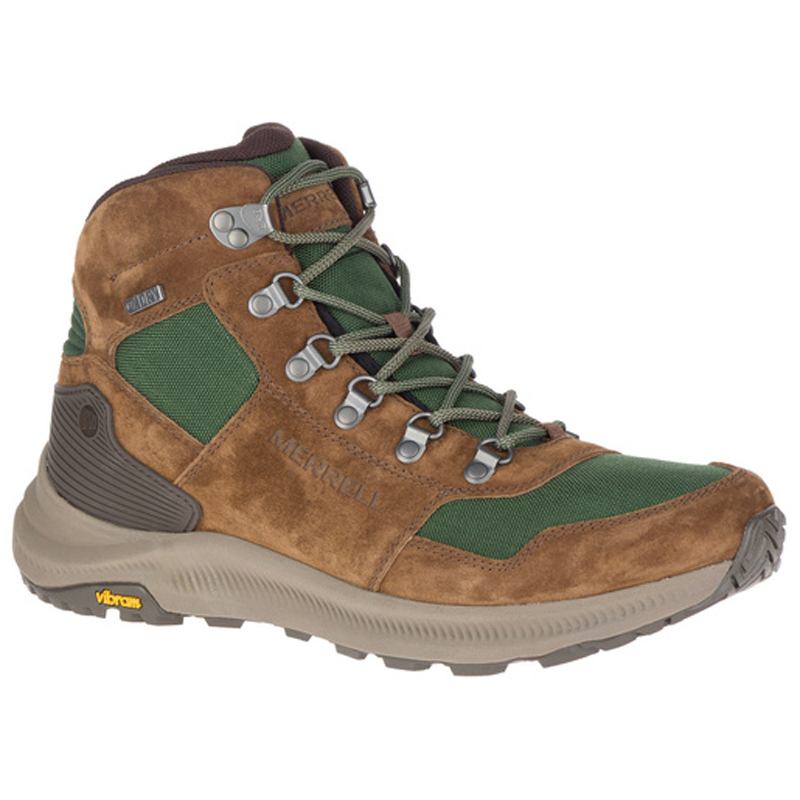 MERRELL(メレル) ONTARIO 85 MID WATERPROOF 9.5/27.0cm FOREST M16929