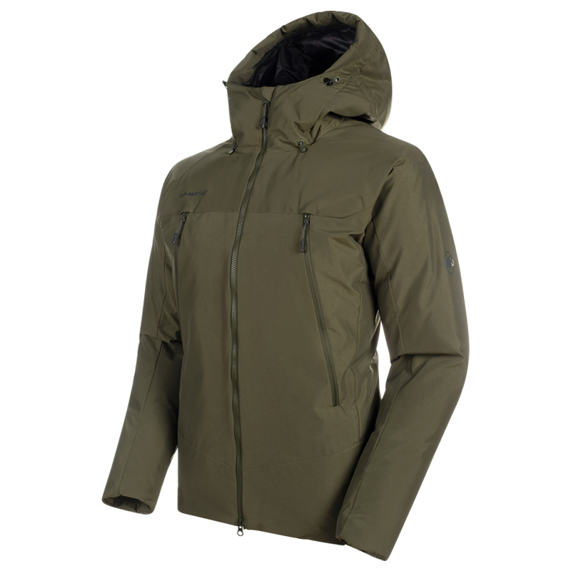 【P10倍☆3店舗買い回りで!4/9~】 MAMMUT(マムート) Crater SO Thermo Hooded Jacket AF Men's S 4584(iguana) 1011-00780