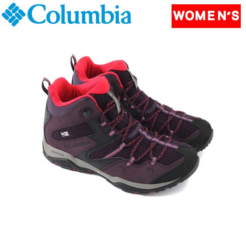 Columbia(コロンビア) セイバー 4 ミッド アウトドライ ワイド Women's 6/23.0cm 506(DARK PLUM) YK7463
