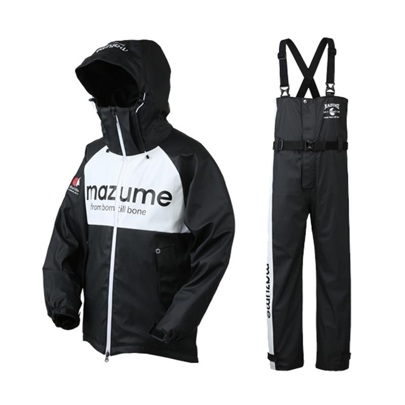 MAZUME(マズメ) mazume ROUGH WATER レインスーツ III L ブラック MZRS-434-02