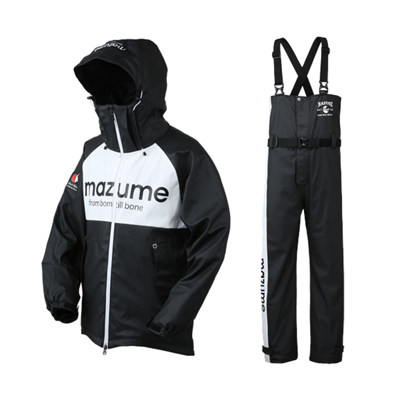MAZUME(マズメ) mazume ROUGH WATER レインスーツ III LL ブラック MZRS-434-03