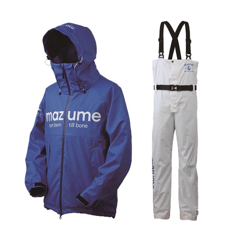 MAZUME(マズメ) mazume ROUGH WATER レインスーツ III L ブルー MZRS-434-10